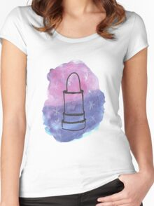 Space Lippy Women's Fitted Scoop T-Shirt