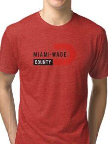 Miami-Wade County Tri-blend T-Shirt