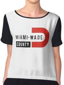 Miami-Wade County Chiffon Top