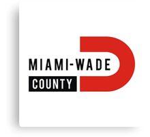 Miami-Wade County Canvas Print