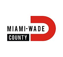 Miami-Wade County Photographic Print