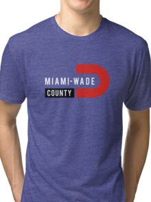 Miami-Wade County Tri-blend T-Shirt