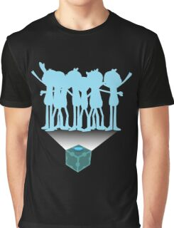Mr Meeseeks - Rick and Morty Graphic T-Shirt