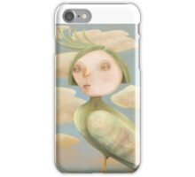Green Crested Ladytoo iPhone Case/Skin