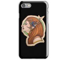 Keyleth: the Half Elf Druid iPhone Case/Skin