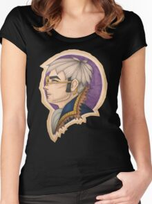 Percy: the Human Gunslinger Women's Fitted Scoop T-Shirt