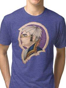 Percy: the Human Gunslinger Tri-blend T-Shirt