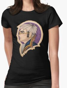 Percy: the Human Gunslinger Womens Fitted T-Shirt