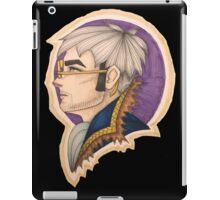 Percy: the Human Gunslinger iPad Case/Skin