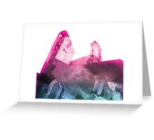 Rainbow Gems Greeting Card