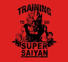 Training to go ssj (vintage) Unisex T-Shirt