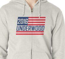 UNDERWOOD 2016 Zipped Hoodie