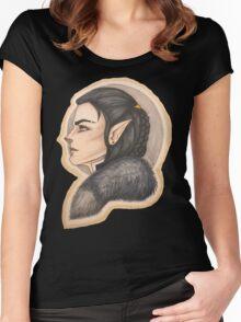 Vax: Half Elf Rogue  Women's Fitted Scoop T-Shirt