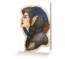 Vex: Half Elf Ranger Greeting Card