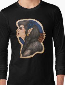 Vex: Half Elf Ranger Long Sleeve T-Shirt