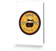 Magic Brew Greeting Card