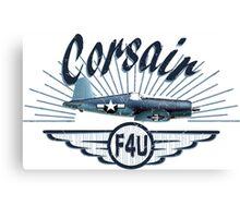 Corsair F4U Canvas Print