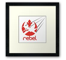rebel without a cause Framed Print