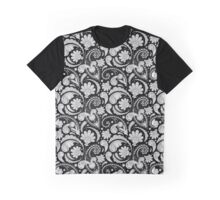 Cute black white paisley patterns Graphic T-Shirt