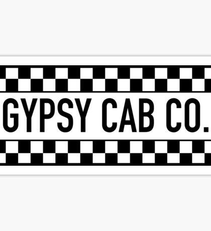 Gypsy Cab Company T-Shirt Sticker