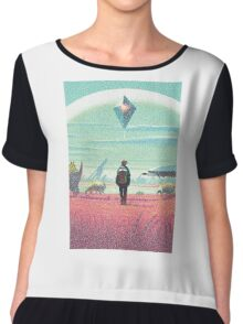 No Man's Sky Player Chiffon Top