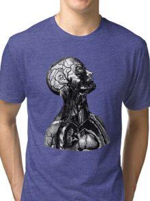 Anatomy Illustration Tri-blend T-Shirt