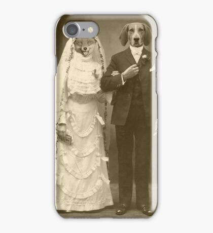 A marriage not made in heaven iPhone Case/Skin