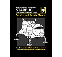 Starbug Service and Repair Manual Photographic Print