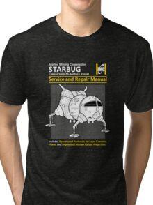 Starbug Service and Repair Manual Tri-blend T-Shirt