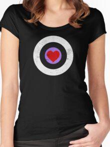Robert Downey Jr.'s Random Act Funding Tee Women's Fitted Scoop T-Shirt