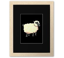Sheep Baa Framed Print