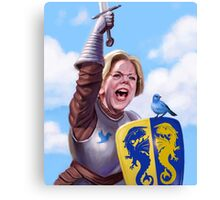 Knight Elizabeth Warren Canvas Print