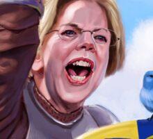 Knight Elizabeth Warren Sticker