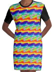Marvin Graphic T-Shirt Dress