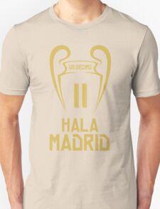 Hala Madrid Champions 11 Unisex T-Shirt