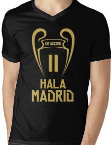 Hala Madrid Champions 11 Mens V-Neck T-Shirt