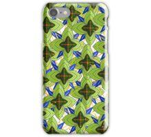 Tropical mandala iPhone Case/Skin