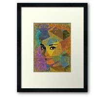 audrey Framed Print