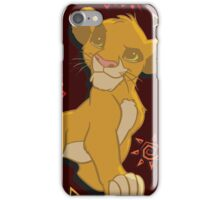 Simba - The Lion King iPhone Case/Skin