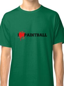 I love Paintball Classic T-Shirt