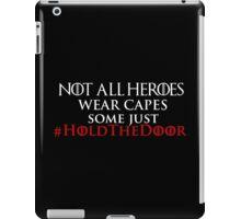 HODOR THE HERO! iPad Case/Skin