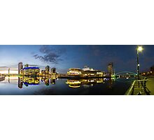 Media City Panorama Photographic Print