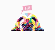 Bulldog Say Hi! Unisex T-Shirt