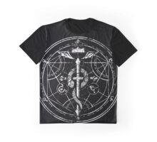 Black and White Transmutation Graphic T-Shirt