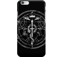 Black and White Transmutation iPhone Case/Skin