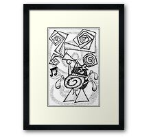 Jazz haggis Framed Print