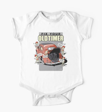 Fix your Oldtimer - Beetle 1 One Piece - Short Sleeve