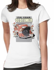 Fix your Oldtimer - Beetle 1 Womens Fitted T-Shirt