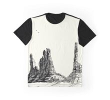 Desert Landscape 03 Graphic T-Shirt