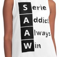 Serie Addicts Always Win Contrast Tank